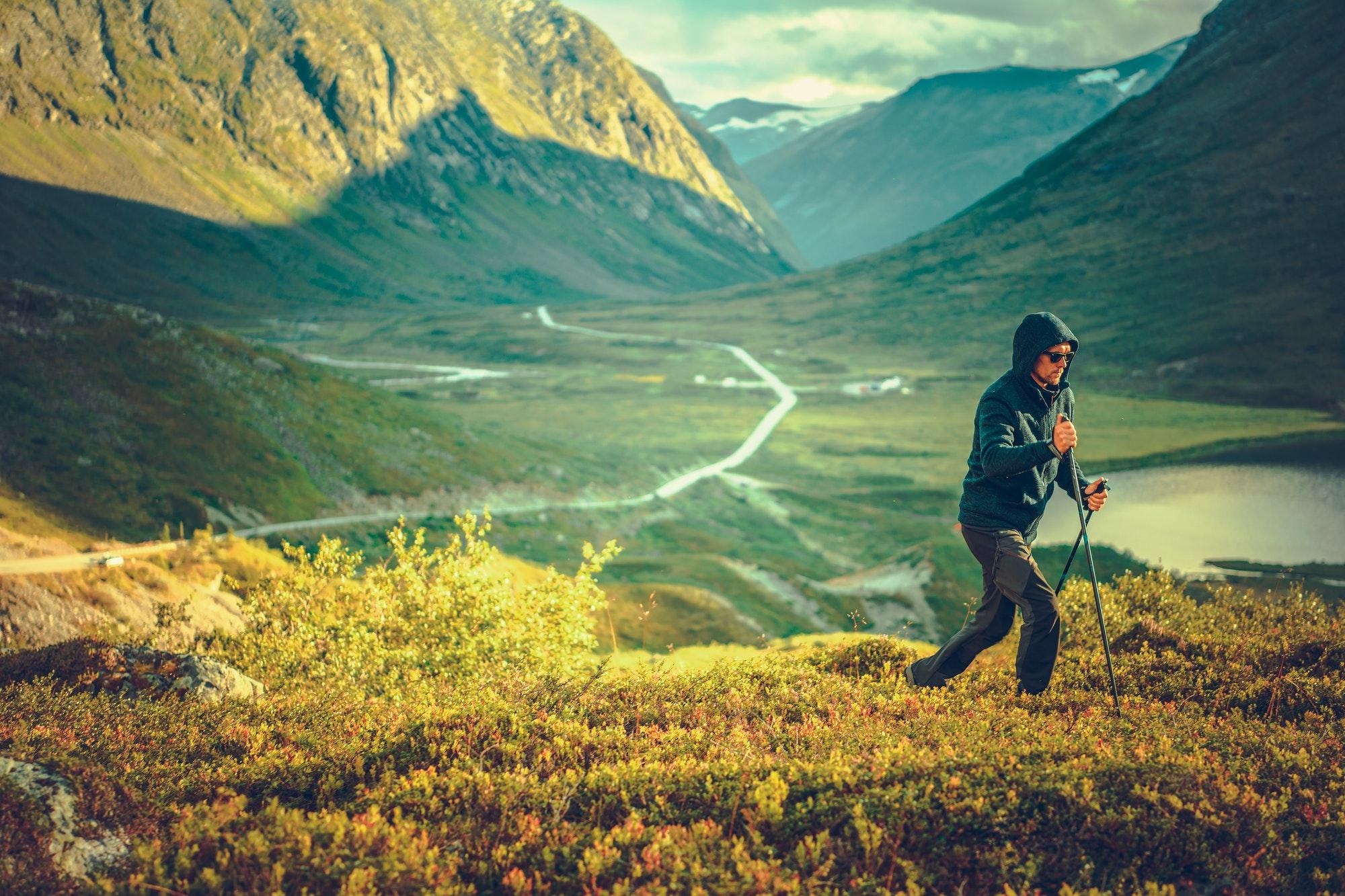 Nordic Walking Mountain Trail
